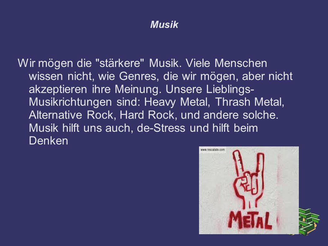 Musik Wir mögen die