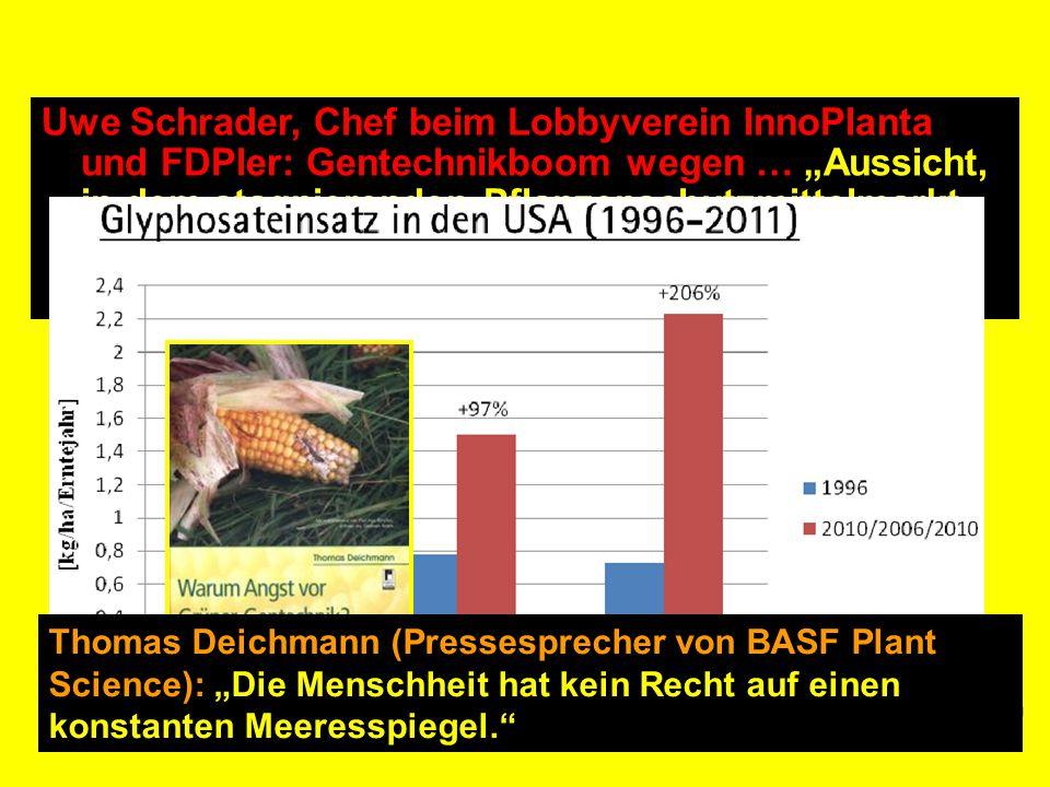 """Monsanto auf Deutsch Kampagne zu den Gentechnik-Seilschaften Anlass: """"Monsanto. Mit Gift und Genen"""" Frühjahr 2009: Recherche Ab Sommer 2009: Broschüre"""