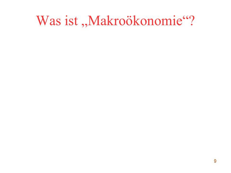 """9 Was ist """"Makroökonomie""""?"""