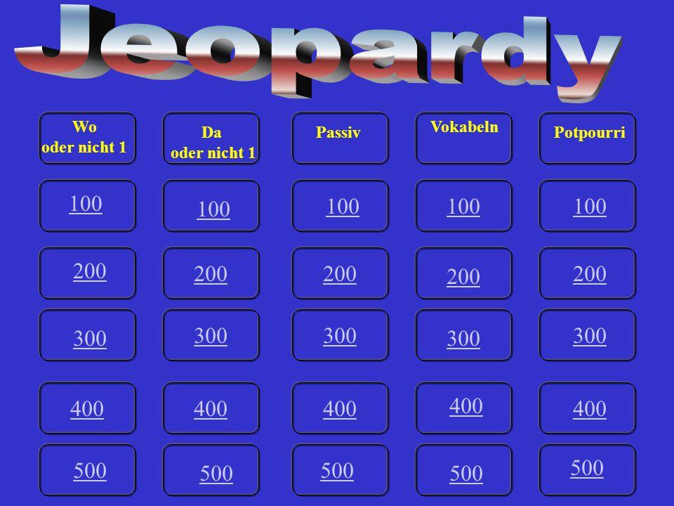 V-500 A Womit beschäftigst du dich? Game board