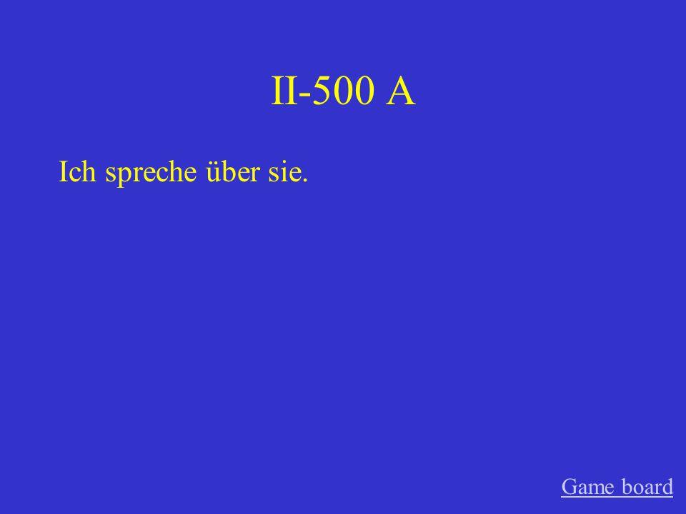 II-400 A Katja freut sich darauf. Game board