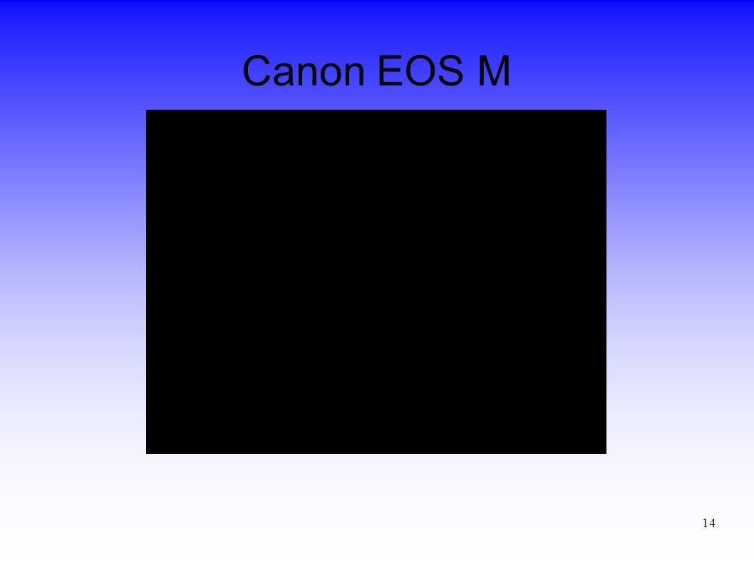 14 Canon EOS M