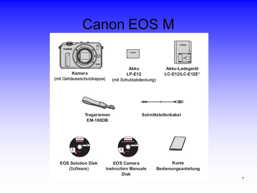 7 Canon EOS M
