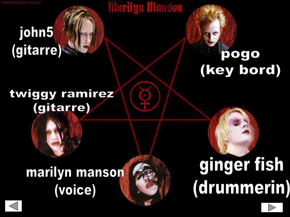 Verschiedene links zu verschiedenen Manson-Websites. Zur nächsten Folie: smile
