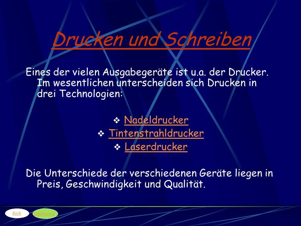 Das DVD-Laufwerk (Digital Versatile Disk) Die DVD: - Im Aufbau ähnlich der CD- ROM, bietet jedoch eine ca.