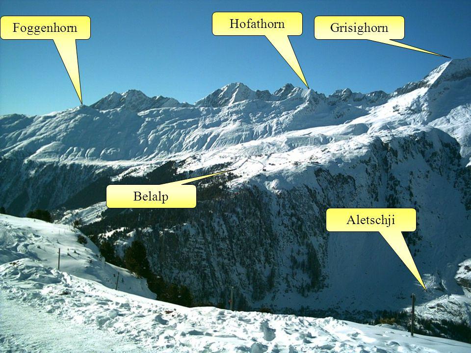 Belalp Grisighorn Hofathorn Foggenhorn Aletschji