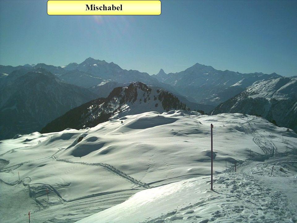 Matterhorn Weisshorn DomAlphubel Mischabel Glishorn Riederhorn