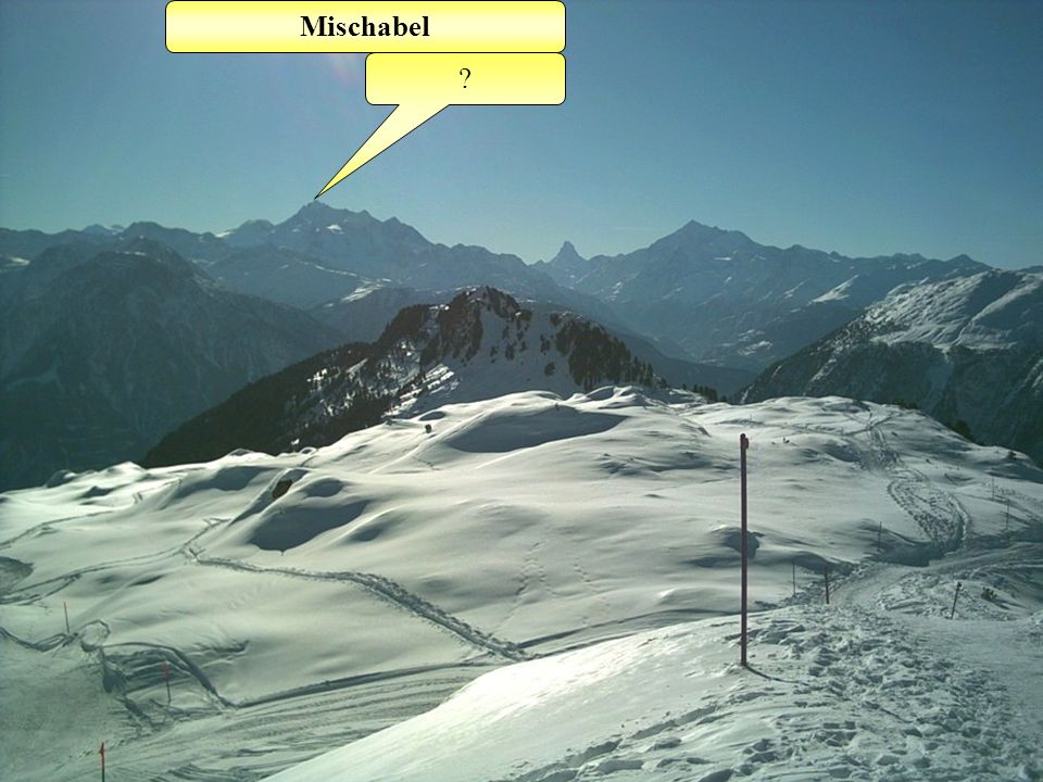 Oberaletsch- gletscher