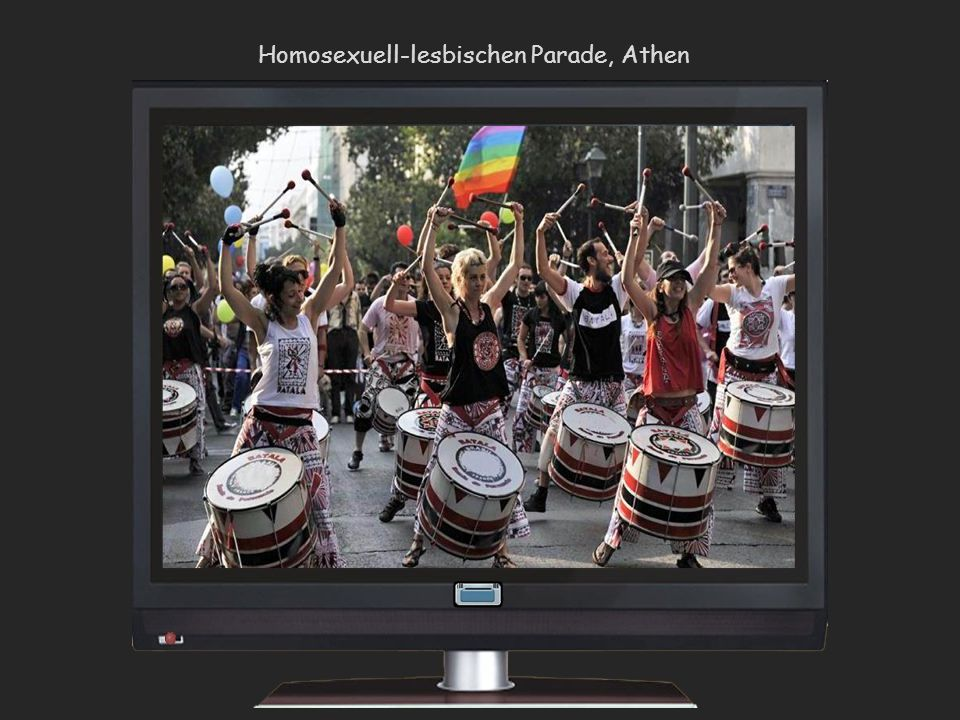 Homosexuell-lesbischen Parade, Athen