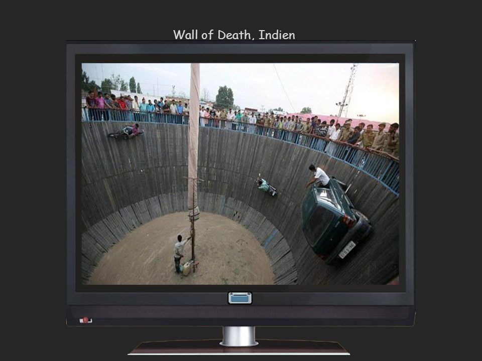 Wall of Death, Indien