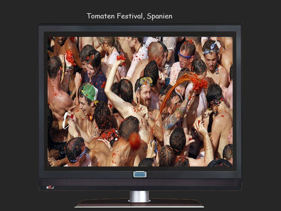 Tomaten Festival, Spanien