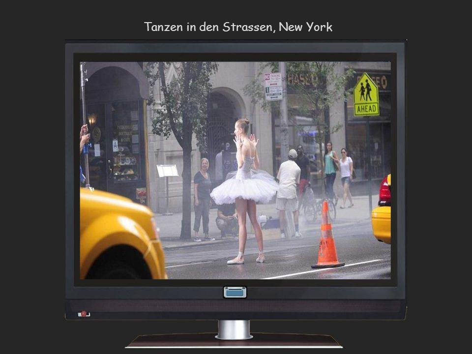 Tanzen in den Strassen, New York