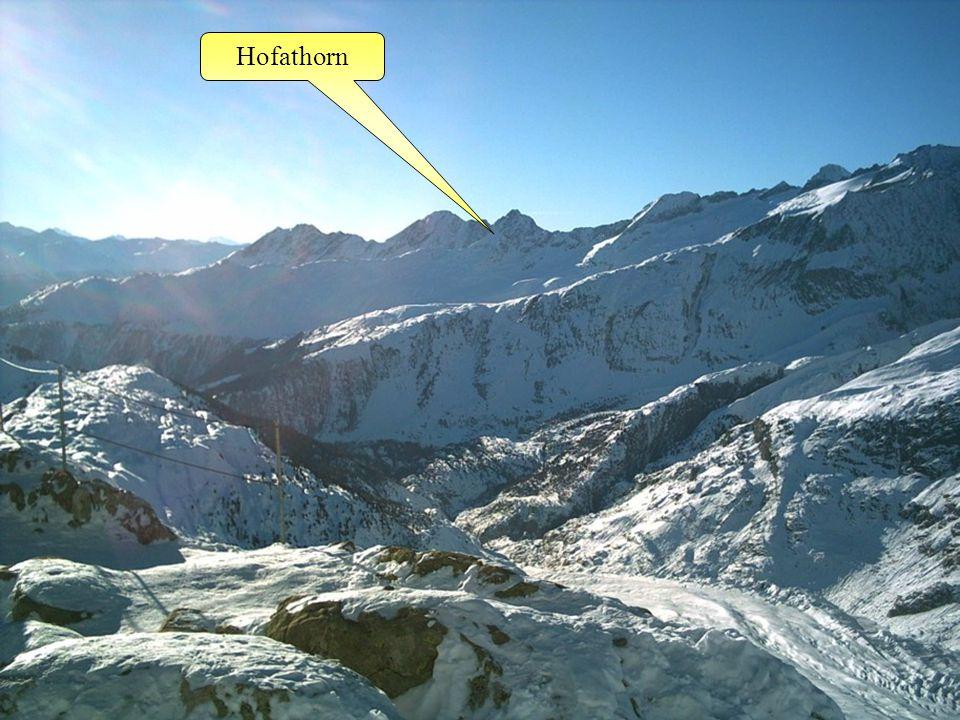 Fusshörner Aletschhorn GeisshornRothorn Rotstock Gr. Fusshorn