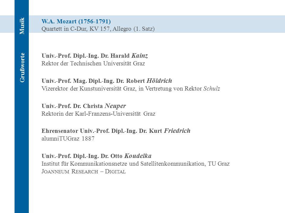 W.A. Mozart (1756-1791) Quartett in C-Dur, KV 157, Allegro (1.
