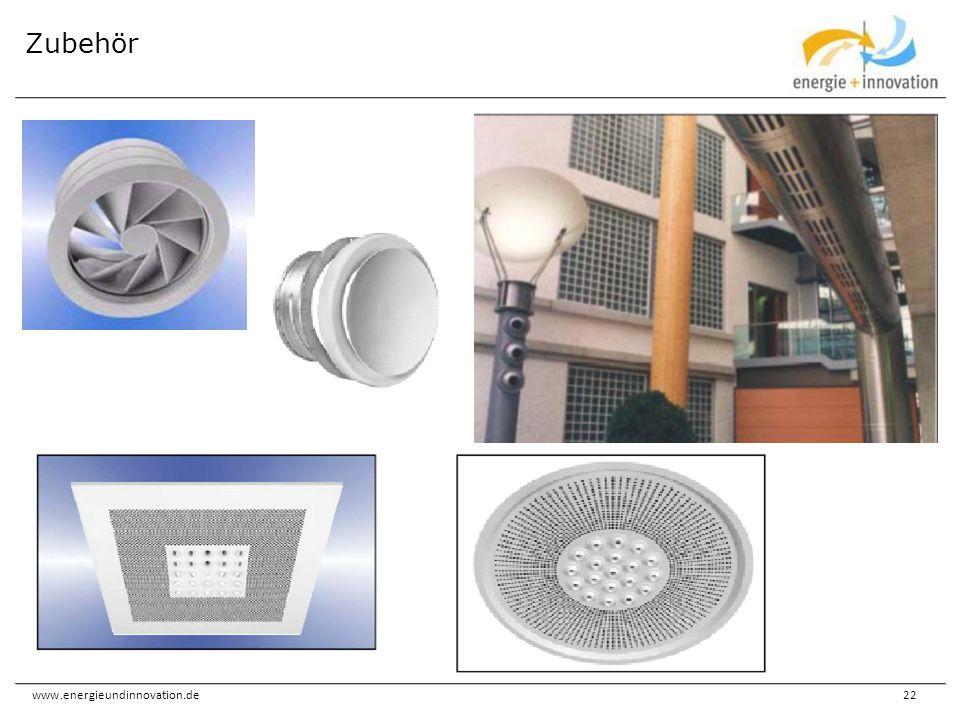 www.energieundinnovation.de22 Zubehör