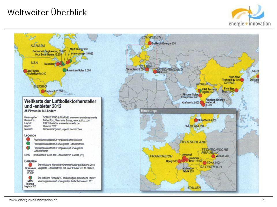 www.energieundinnovation.de5 Weltweiter Überblick