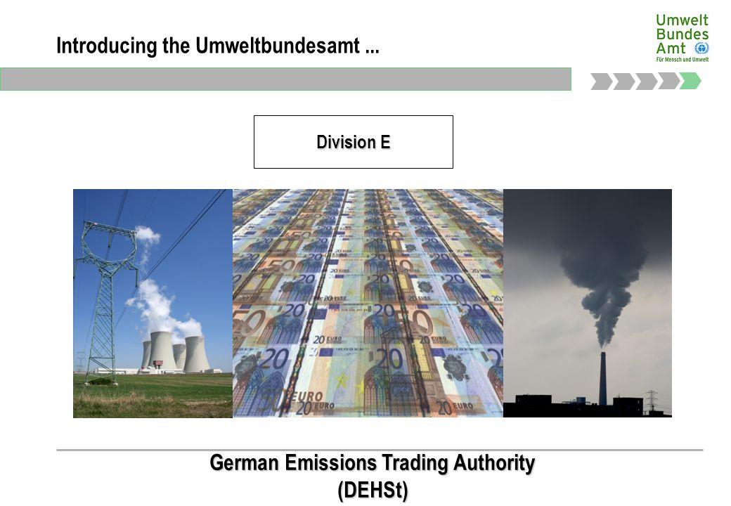 Präsidialbereich Introducing the Umweltbundesamt...
