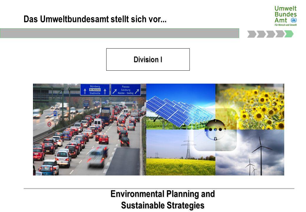 Präsidialbereich Das Umweltbundesamt stellt sich vor...
