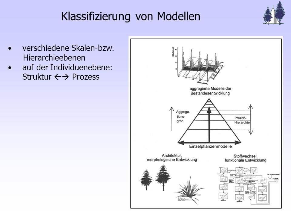 Klassifizierung von Modellen verschiedene Skalen-bzw.