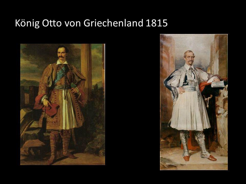 König Otto von Griechenland 1815
