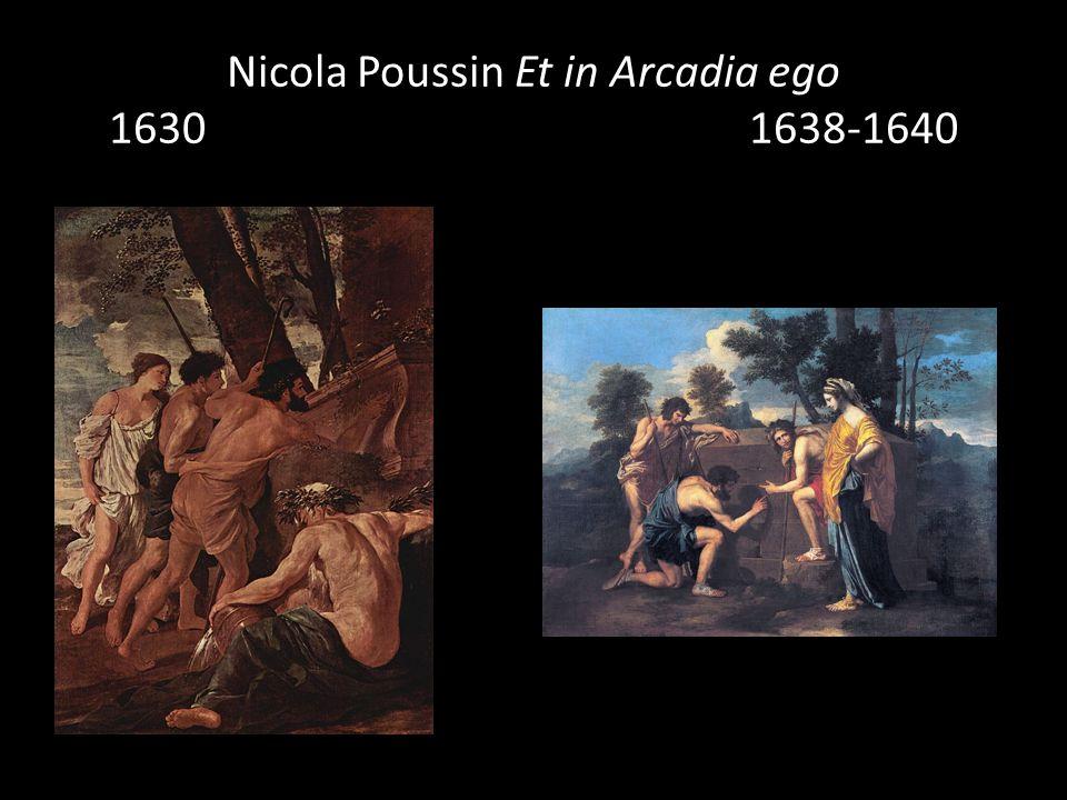 Nicola Poussin Et in Arcadia ego 16301638-1640