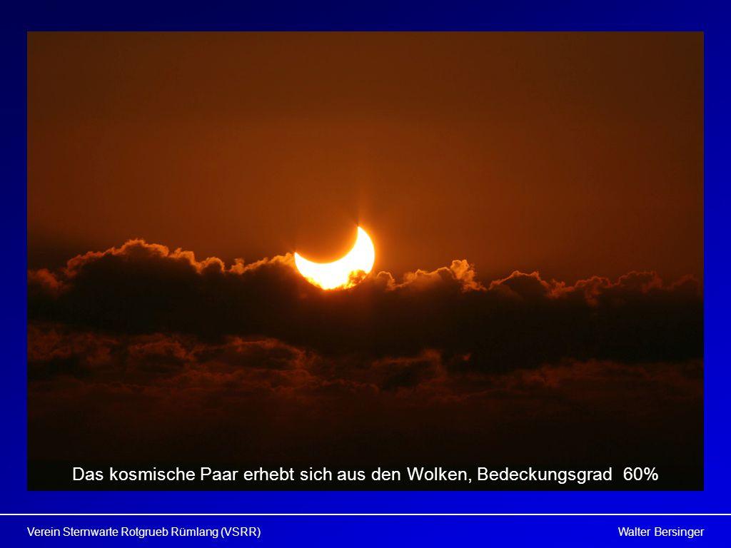 Walter BersingerVerein Sternwarte Rotgrueb Rümlang (VSRR) Das kosmische Paar erhebt sich aus den Wolken, Bedeckungsgrad 60%