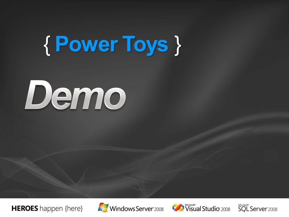 { Power Toys }