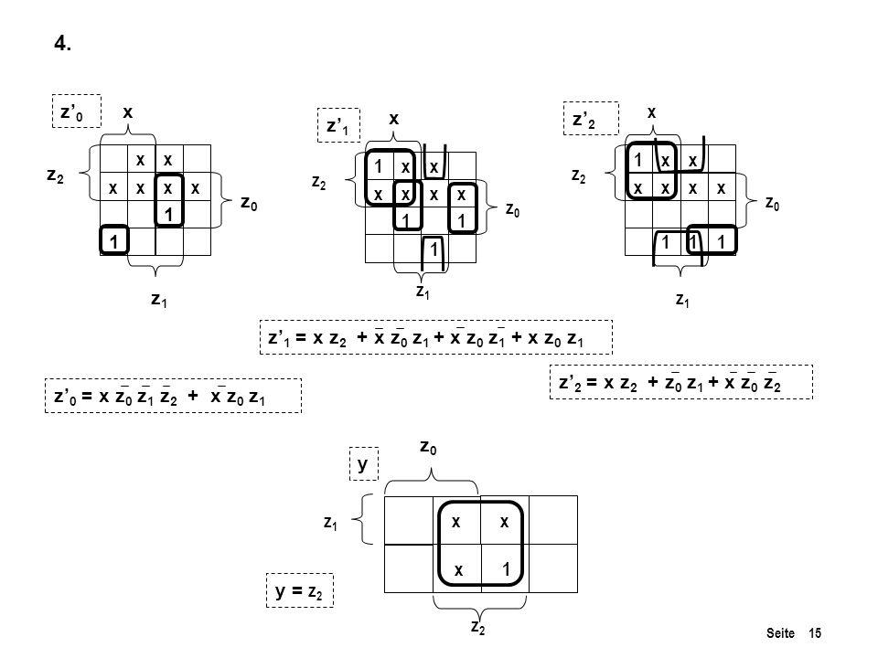 Seite 15 xx xxxx 1 1 x 1 x x 4.