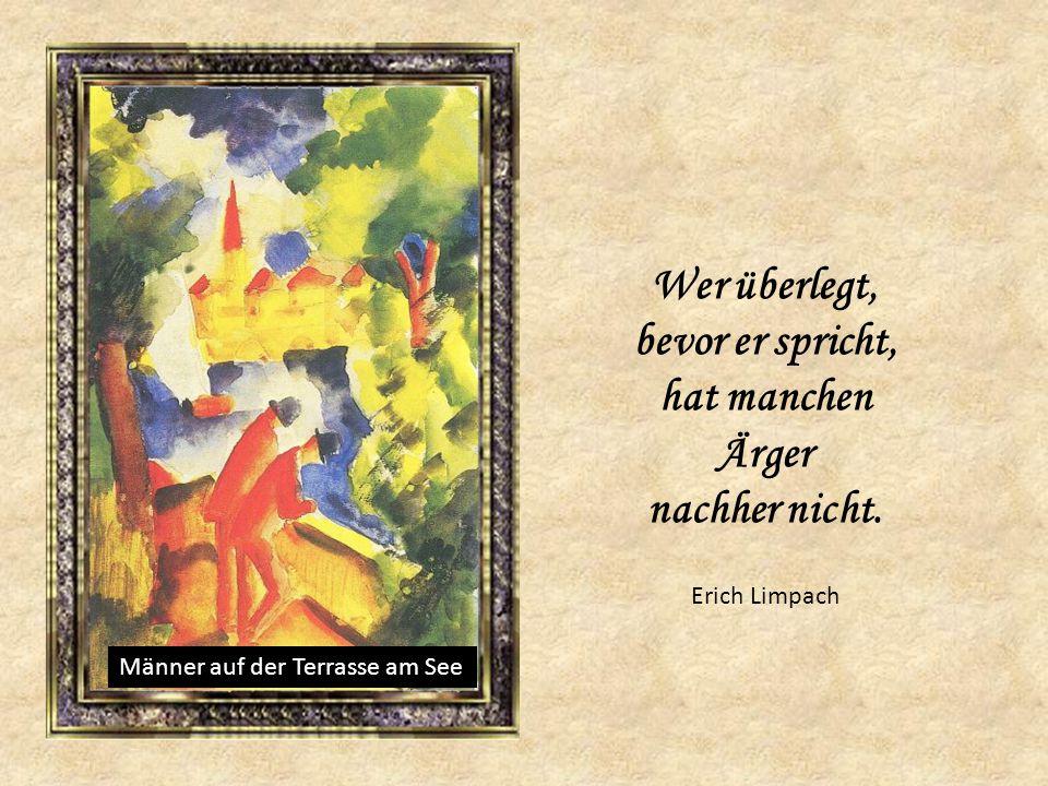Paar am Gartentisch Johann Wolfgang von Goethe Im Ehestand muss man sich manchmal streiten, denn dadurch erfährt man etwas voneinander.