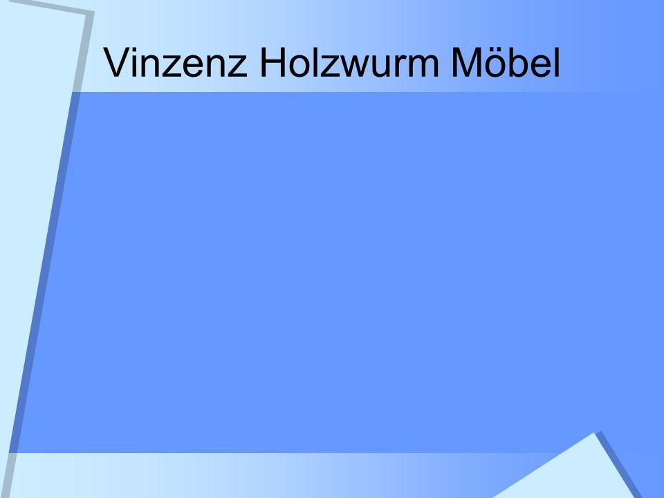 Tagesordnung / Themen Geschichte der Firma Heutige Firmenstruktur Personalstruktur Der Weg zum Möbel Produktbeispiele Visionen