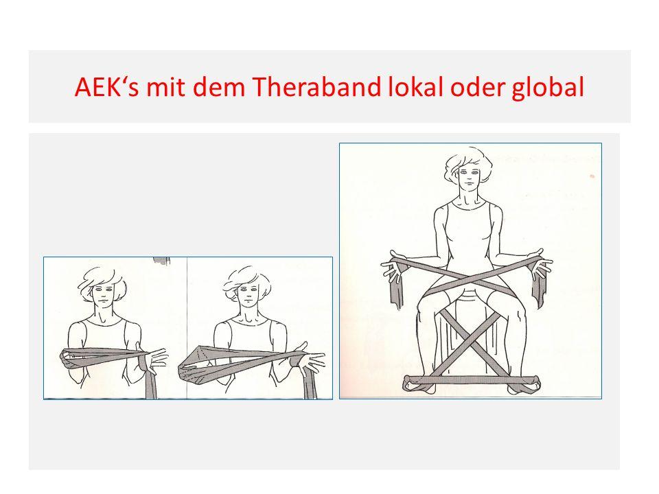 AEK's mit dem Theraband lokal oder global