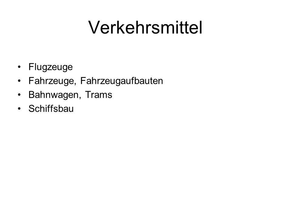 Verkehrsmittel Flugzeuge Fahrzeuge, Fahrzeugaufbauten Bahnwagen, Trams Schiffsbau