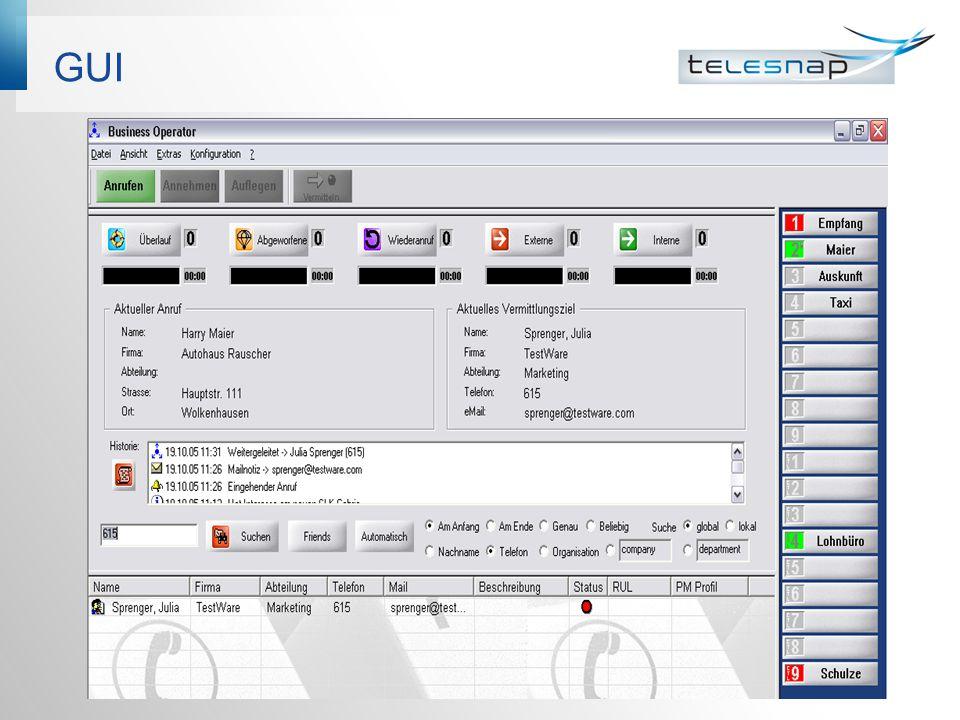 Anrufverteilung #1 Automatische Zuteilung der Anrufe auf Vermittlungsplätze über CCD