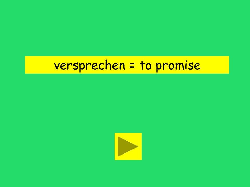Ich verspreche dir mein erstes Kind! leave behind tell aboutpromise