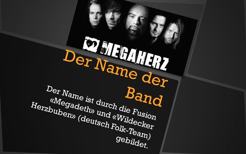 Der Name der Band Der Name ist durch die Fusion «Megadeth» und «Wildecker Herzbuben» (deutsch Folk-Team) gebildet.