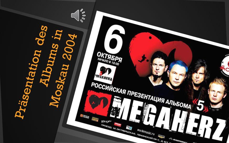 Präsentation des Albums in Moskau 2004