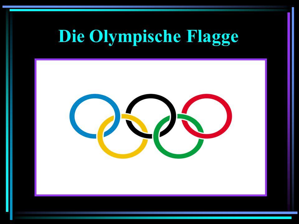 Die Olympische Flagge