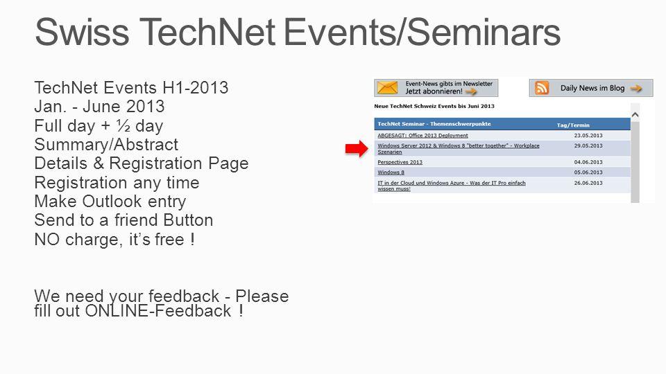 Today's TechNet Seminar Diverses  Martin Weber  Michel Lüscher  Jochen Nickel  Handys, Notis bitte aus  Bitte Zeiten einhalten, Danke  Pausen, WC, Lunch (Platz)  Klima, Rauchen  Handouts per Email  Kontaktform auf Papier  Feedback: Web via Email, bitte auch im freien Kommentar schreiben Agenda  09.15 – 10.15 Session  10.15 – 10.45 Pause (30')  10.45 – 12.00 Session  12.00 – 13.00 Lunch (60')  13.00 – 14.15 Session  14.15 – 14.45 Session  14.45 – 15.15 Pause (15-30')  15.15 – 16.00 Session  16.00 Q&A + Ende Themen  Overview Windows Server 2012 / Windows 8  Introduction to Microsoft Virtual Desktop Infrastructure (VDI)  VDI Implementation based on Real World Scenarios  Overview Microsoft Identity, Security & Access Management Solutions  Windows 8 Direct Access  Bring Your Own Device (BYOD) and Microsoft Virtual Desktop Infrastructure (VDI)  VDI Licensing for Techies