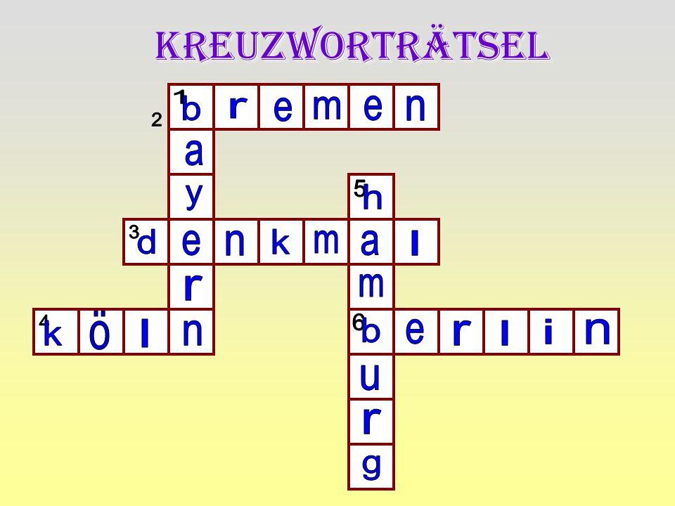 Kreuzworträtsel