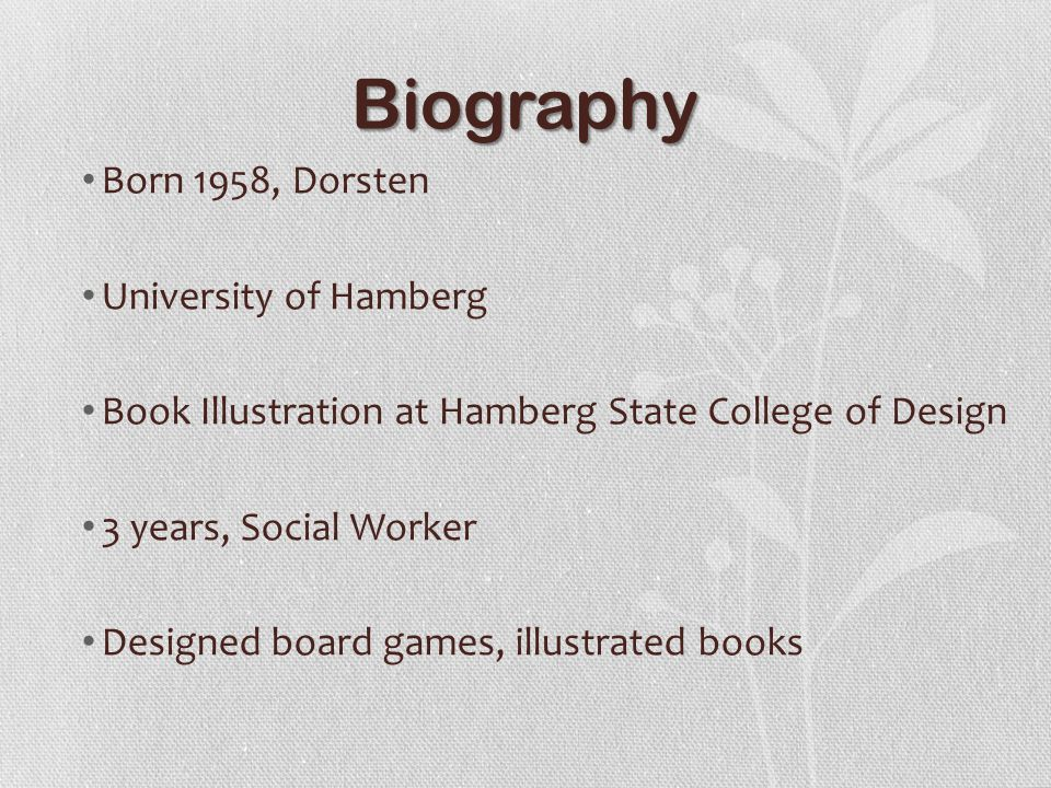 Biography Cont.