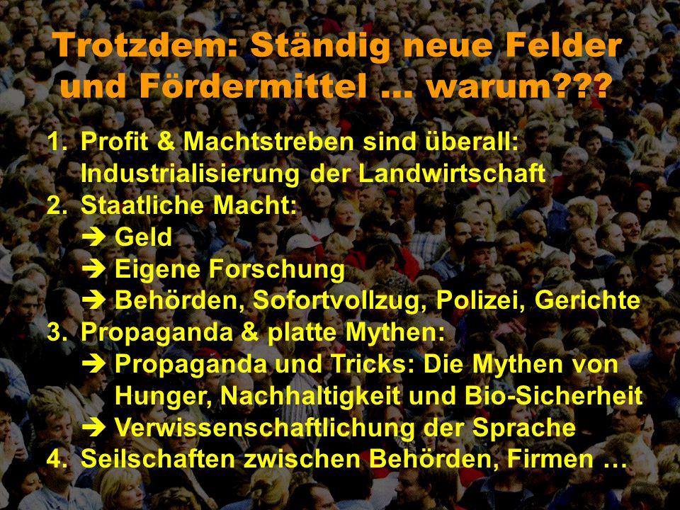 Die Ausgangslage Durchgehend: 80 Prozent dagegen, 6% dafür Ein richtig schlechter Anfang: 1990 in Köln …
