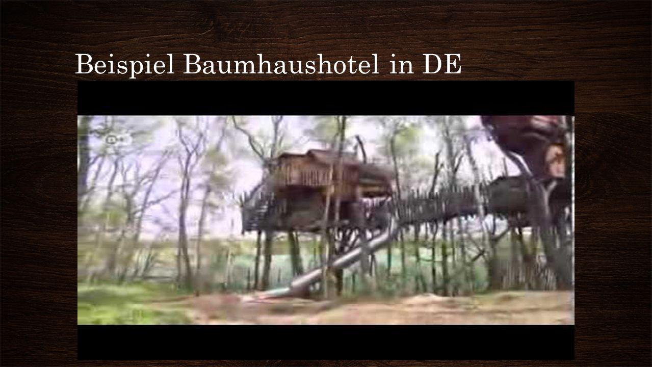 Beispiel Baumhaushotel in DE