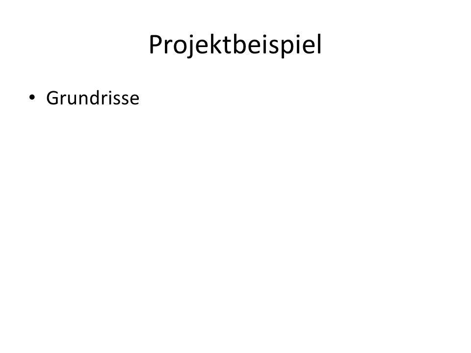 Projektbeispiel Grundrisse