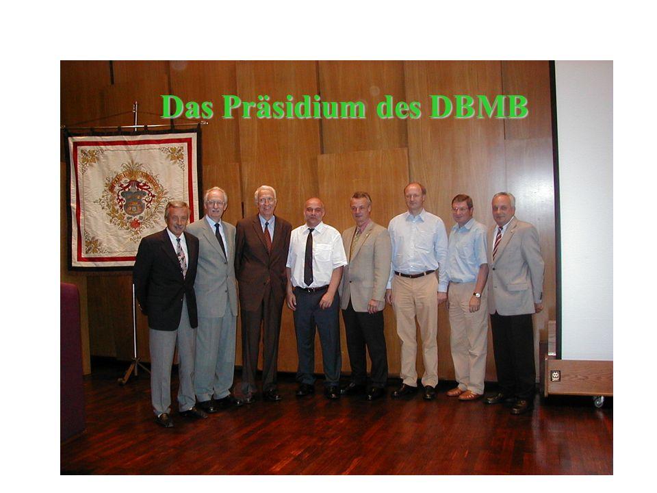 Das Präsidium des DBMB