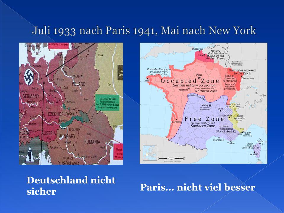 Deutschland nicht sicher Paris… nicht viel besser