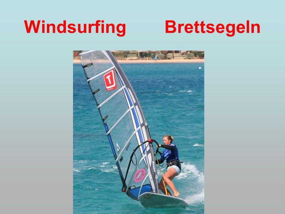 Windsurfing Brettsegeln