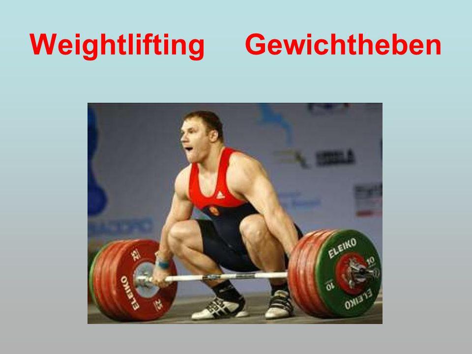 Weightlifting Gewichtheben