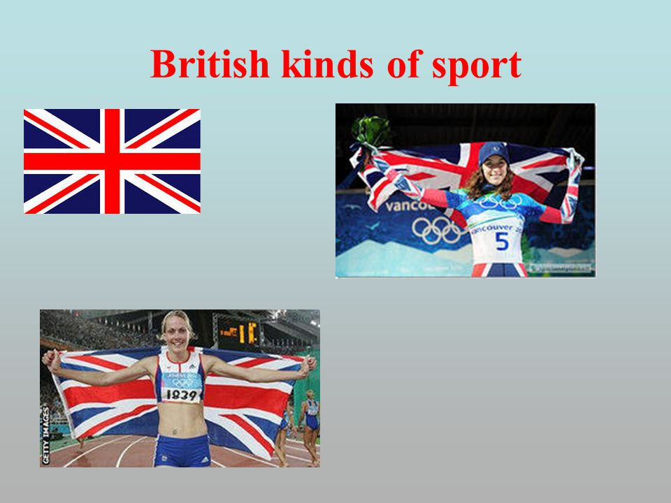 British kinds of sport