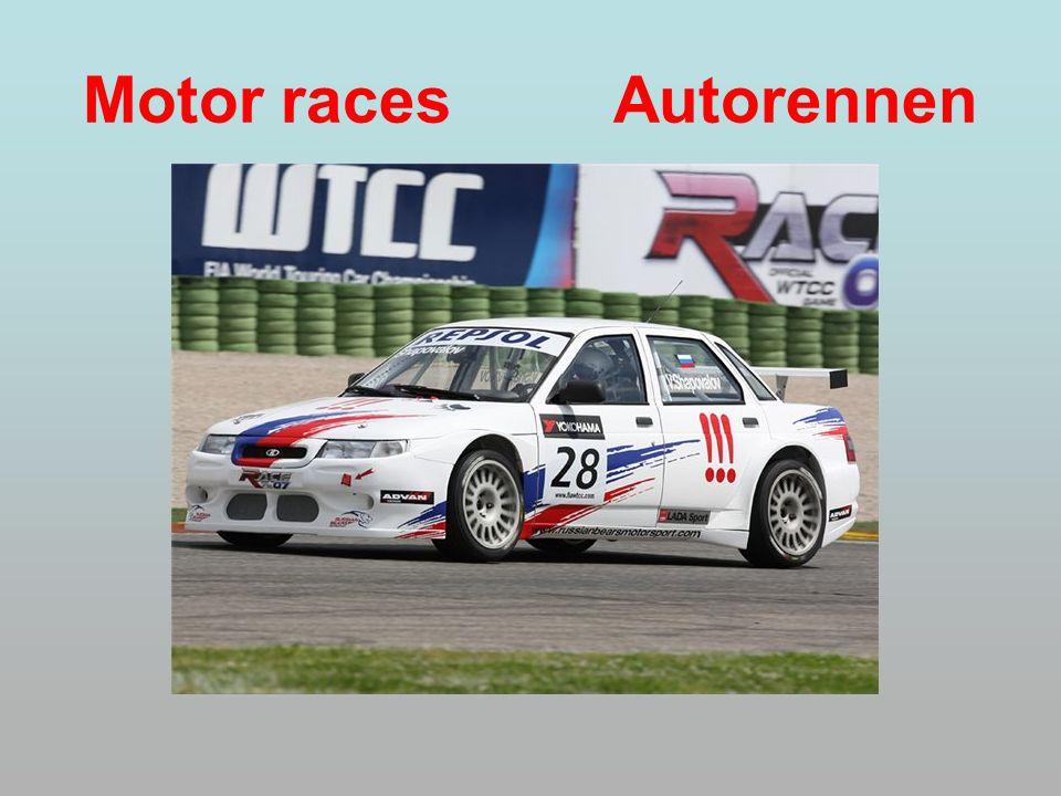 Motor races Autorennen