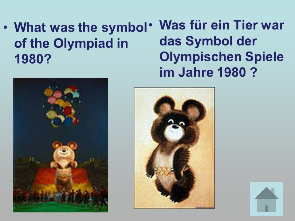 What was the symbol of the Olympiad in 1980.